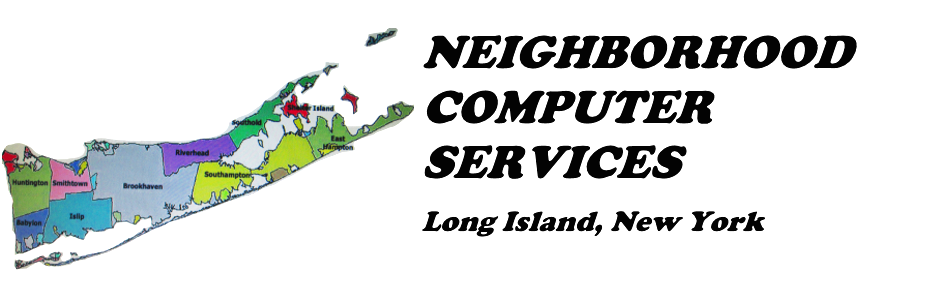 Neighborhood Computer Services, Long Island, New York Logo